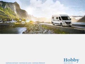 Hobby αυτοκινούμενα VAN 2021