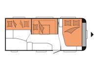 Hobby-De-Luxe-545-KMF-sleep