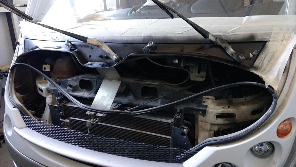 Επισκευή πλαστικών σε αυτοκινούμενο