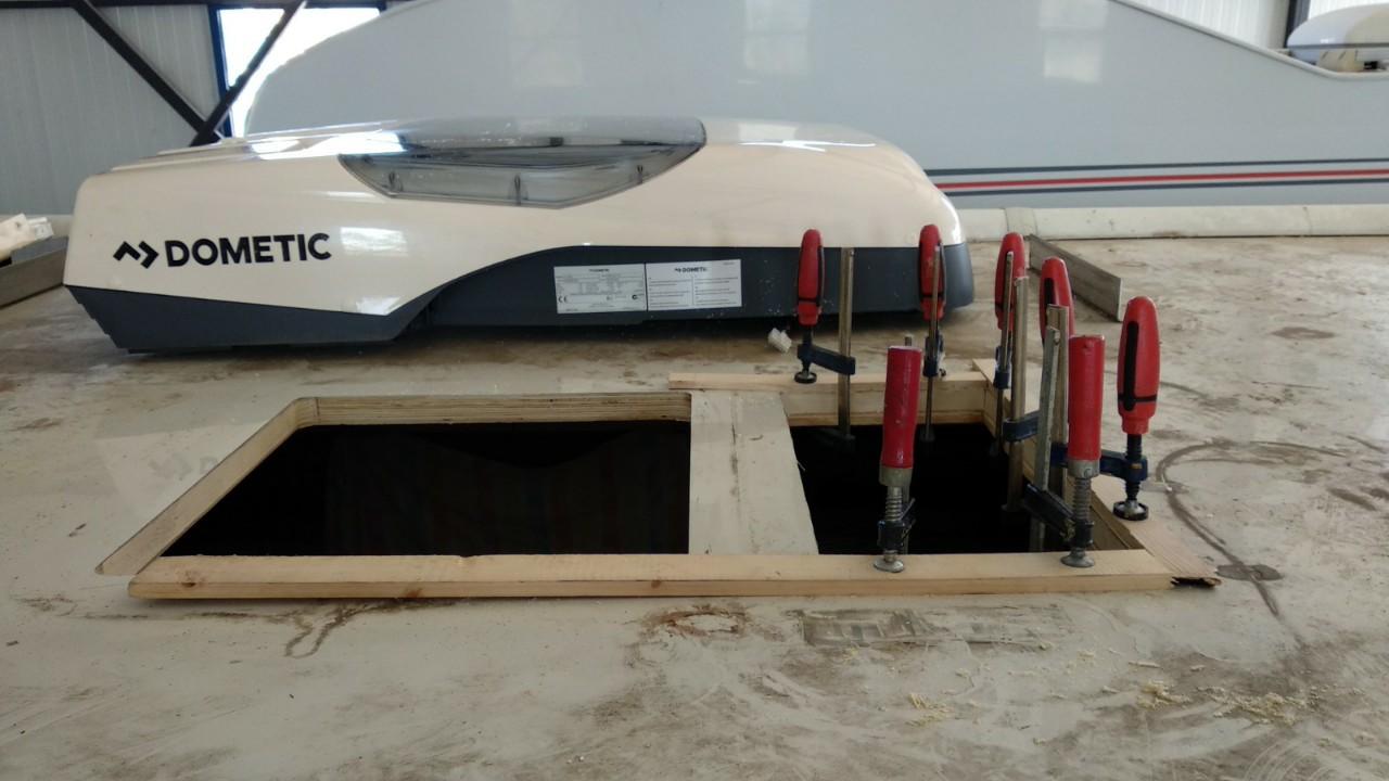 Εγκατάσταση Κλιματιστικού Dometic Freshjet