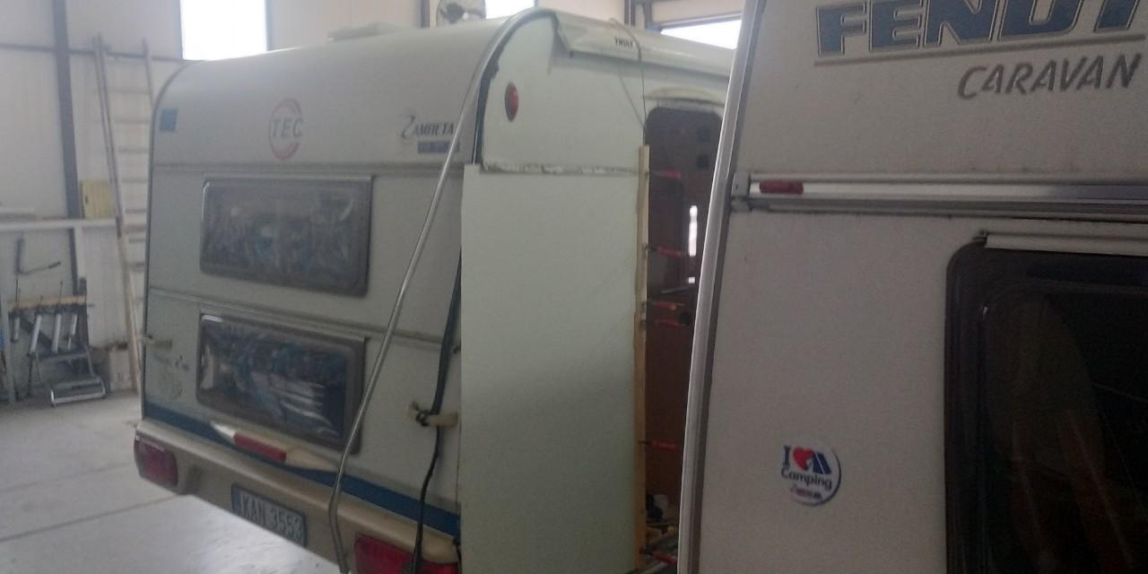 Επισκευή πλαϊνού τροχόσπιτου TEC